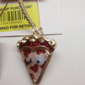 Betsey Johnson Jewelry - Betsey Johnson New Cherry Pie Earrings